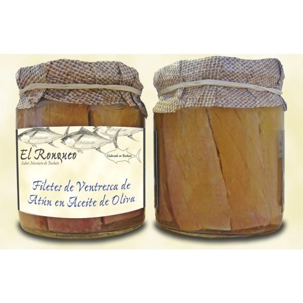 Tuna ventresca, Ventresca de Atún en aceite de oliva