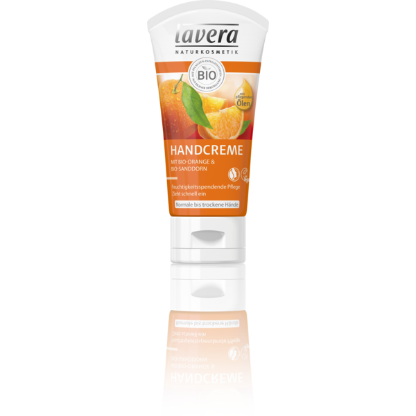 Hand Cream With Organic Orange & Organic Sea Buckthorn