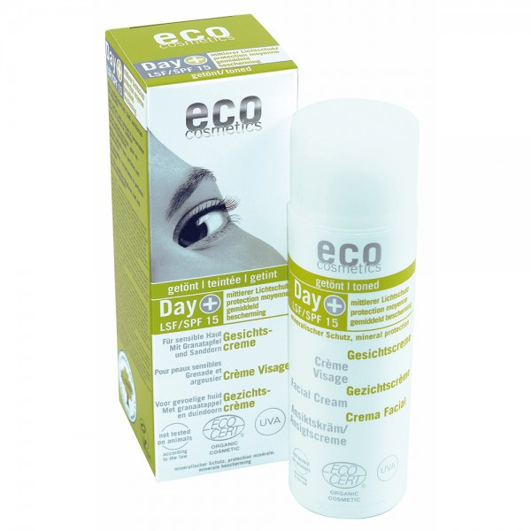 ECO Facial Cream SPF 15 toned 50ml